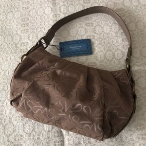 Simply Vera Wang SV Signature Shoulder Purse